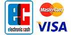EC, Visa, Mastercard