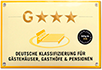 Logo G Klassifizierung