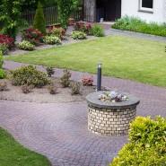 Garten Blick aus Gästezimmer